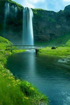 Una linda cascada