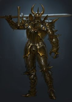 ArtStation - evil armor, sueng hoon woo