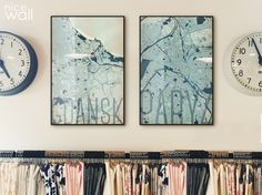Inspiracja na dziś :) minimalistyczne plakaty z mapami, wzorowy design i świetna jakość.  kupisz na www.eplakaty.pl