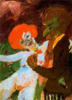 Emil Nolde, The enthusiast (Der Schwärmer), 1919