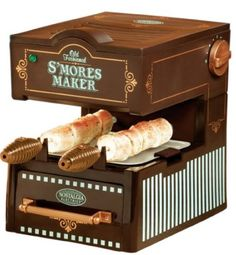 this thing is called an old fashioned s'mores maker. i thought an old fashioned s'mores maker was just. Cool Kitchen Gadgets, Small Kitchen Appliances, Cool Gadgets, Cool Kitchens, Kitchen Small, Funky Kitchen, Crazy Kitchen, Copper Kitchen, Kitchen Stuff