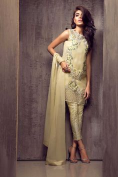 Pakistani Dress Elan Inspired Hand Embroidered by KaamdaniCouture