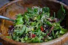 Salad with Quinoa & Lentils – Meatless Monday