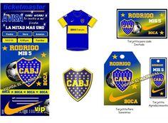 Tarjetas De Invitacion A Cumpleaños De Boca Juniors Para Enviar Por Correo 4 HD Wallpapers