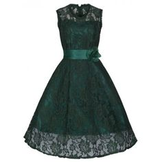 Emerald green 'Sally May' Swing Dress | Vintage Inspired Fashion - Lindy Bop