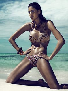 """Model of the Week""  Name: Florentina Kuhl.  Age: 23.  Agency: East West Models.  Hometown: Mannheim, Germany."