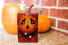 Just add a small tea light candle or LED tea light to this Orange Pumpkin Tea Light Candle Holder and watch your Halloween décor glow. It's available exclusively at Cracker Barrel Old Country Store.