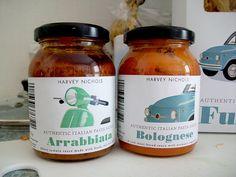 Harvey Nichols jars by brubottle, via Flickr