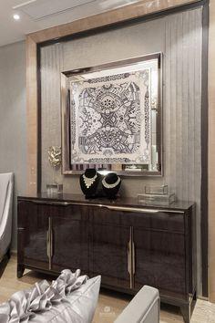 LUXURY FURNITURE | modern design with an elegant sideboard | bocadolobo.com/ #luxuryfurniture #designfurniture