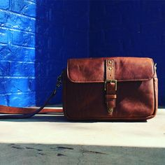 The Bowery bag in antique cognac