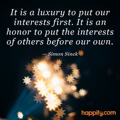 What Do You Sacrifice for Others? - Simon Sinek