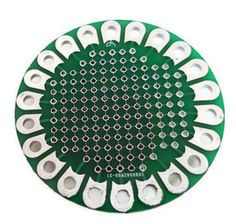PBoardLg New LilyPad Prototype Board ProtoBoard - Round Prototype Board for all DIY Electronics projects