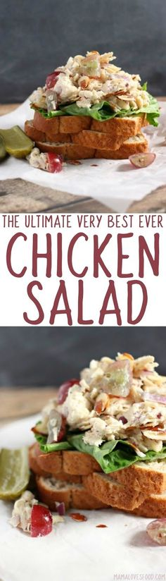 whole family loved it! The Best Chicken Salad Recipe - Fresh and Fruity Chicken Salad Recipe