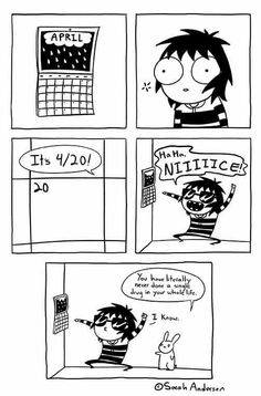 Anybody who's familiar with the comics of Sarah Andersen will know how perfectly they summarize the daily struggles of modern life, especially when it comes to Sarah Anderson Comics, Sara Anderson, Tumblr Funny, Funny Memes, Hilarious, Cute Comics, Funny Comics, Saras Scribbles, Tumblr Comics
