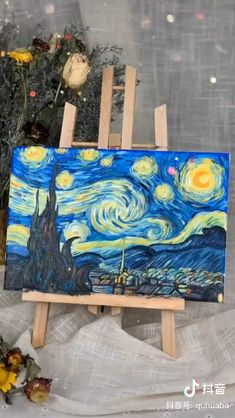 Cute Canvas Paintings, Easy Canvas Art, Canvas Painting Tutorials, Small Canvas Art, Mini Canvas Art, Diy Canvas, Painting Art, Hippie Painting, City Painting