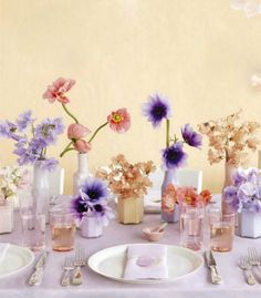 jars, vases with matte spray paint