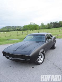 1967 Chevy Camaro Affordably Flat Painting Finished Look