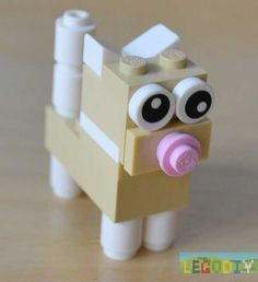 Lego kitten #legoclassic #cats #forkids