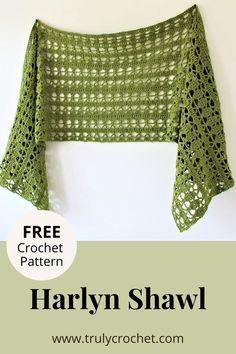 Prayer Shawl Crochet Pattern, Poncho Au Crochet, Prayer Shawl Patterns, Crochet Prayer Shawls, Pull Crochet, Crochet Wrap Pattern, Crochet Diy, Crochet Shawls And Wraps, Crochet Scarves