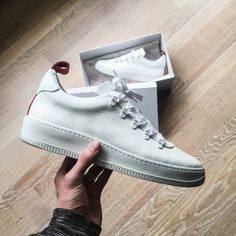 Mason Garments x Franzel Amsterdam. Beautiful!! #sneakers