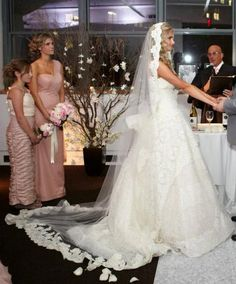 Wedding Veil  Cathedral Length Mantilla with by AlisaBrides, $425.00