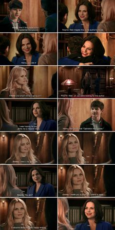 """""""I made you a promise I intend to keep. Everyone deserve their happy ending."""" Emma, Henry and Regina - 4 * 11 """"Heroes and Villains"""""""