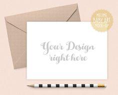 Card and Envelope Mockup Cards Mockup Styled by MelimeDesignStudio
