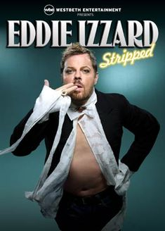 What I love about Eddie Izzard is his seamless blend of history and comedy.