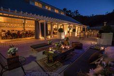 Durham Ranch. Paula LeDuc Fine Catering. Lighting Design by Got Light. Wedding Lighting.