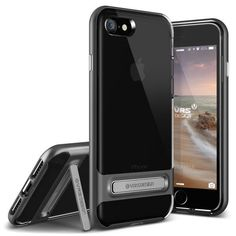 Verus Crystal Bumper iPhone 7 Case - Steel Silver