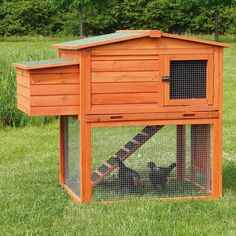 Raising chickens can be a fun and rewarding experience for any backyard farmer. They produce nutritious eggs, as well as organic fertilizer and are low-cost pets to maintain. Because chickens need room to Mobile Chicken Coop, Easy Chicken Coop, Diy Chicken Coop Plans, Portable Chicken Coop, Chicken Coop Designs, Backyard Chicken Coops, Building A Chicken Coop, Chicken Runs, Chickens Backyard