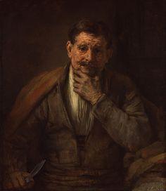 90. The apostel Bartholomeüs - 1661, Rembrandt Harmensz. van Rijn