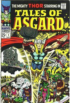 jack kirby | Capns Comics: Tales of Asgard by Jack Kirby