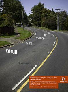 Vodafone: Text & Drive