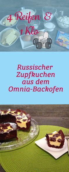 Eine russischen Zupfkuchen im Omnia-Backofen backen? Na klar! Mit diesem Rezept gelingt es auch dir! Finde die besten Omnia-Rezepte bei 4 Reifen und 1 Klo!