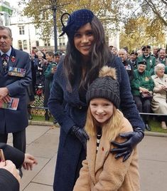 """One of our pupils meeting the Duke & Duchess of Sussex in London today! Princess Meghan, Prince And Princess, Princess Diana, Prince Harry And Megan, Harry And Meghan, Duke And Duchess, Duchess Of Cambridge, Meghan Markle Style, Meghan Markle Fashion"