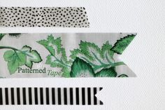 Make your own patterned tape (from magazines!) to add to your craft supplies!