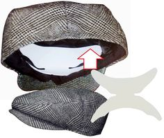 15cd57d5875600 Flat Cap Panel Shaper is design to be used on the inner panel of the cap.  Protecting the panel from wrinkling or crumbling while there being washed