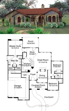 Hacienda House Plans with Center Courtyard Shed Plans Pinterest