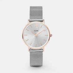 Minuit Mesh Rose Gold/Silver - Clusestore