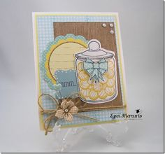 A card created using Waltzingmouse Stamps - full of yumminess!
