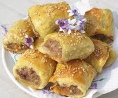 An Australian classic and a favourite with 2 year-olds through to 92 year-olds, at morning teas, afternoon teas, childrens parties Potluck Finger Foods, Australian Food, Australian Recipes, Healthy Afternoon Snacks, Sausage Rolls, Food Lists, Copycat Recipes, High Tea, Afternoon Tea