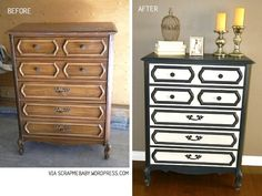Before and after furniture projects |Refurbished Ideas