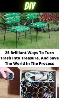 Diy Home Crafts, Homemade Crafts, Upcycled Crafts, Simple Life Hacks, Useful Life Hacks, Craft From Waste Material, Diy Organization, Organizing, Diy Recycle