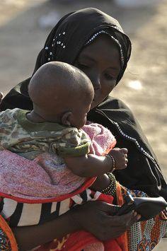 Mother and baby  Sénégal