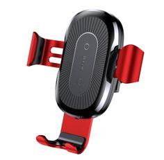 BASEUS Gravity Car Air Vent Mount Wireless Charging Holder for iPhone Plus Etc. (Not Support FOD Function) - Black.TVC-Mall online wholesale store features cell phone accessories for iPhone, Samsung and more at lowest prices from China. Car Mount Holder, Car Holder, Phone Holder, Wireless Charging Pad, Iphone 8 Plus, Iphone Ladegerät, Iphone Cases, Apple Iphone