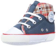 Playshoes - Zapatillas deportivas con cordones, color azul (talla: 16)
