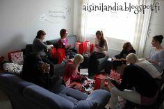 Nail bloggers' meeting