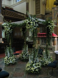 Natural Chuppah North London