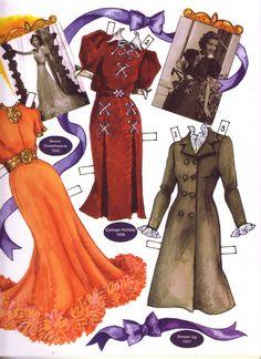Marsha Hunt paper doll clothes